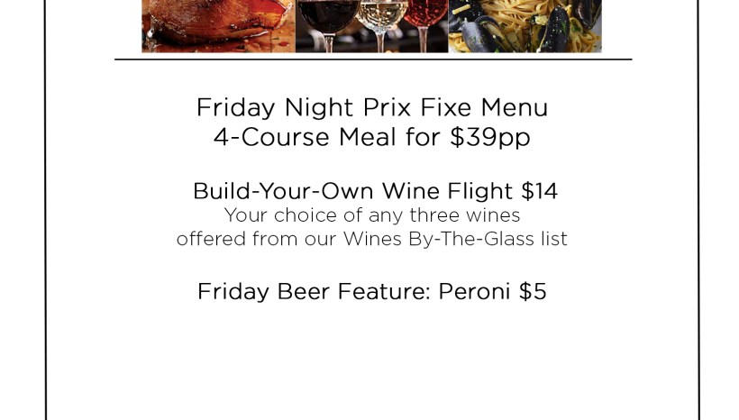 Primo- Friday Specials