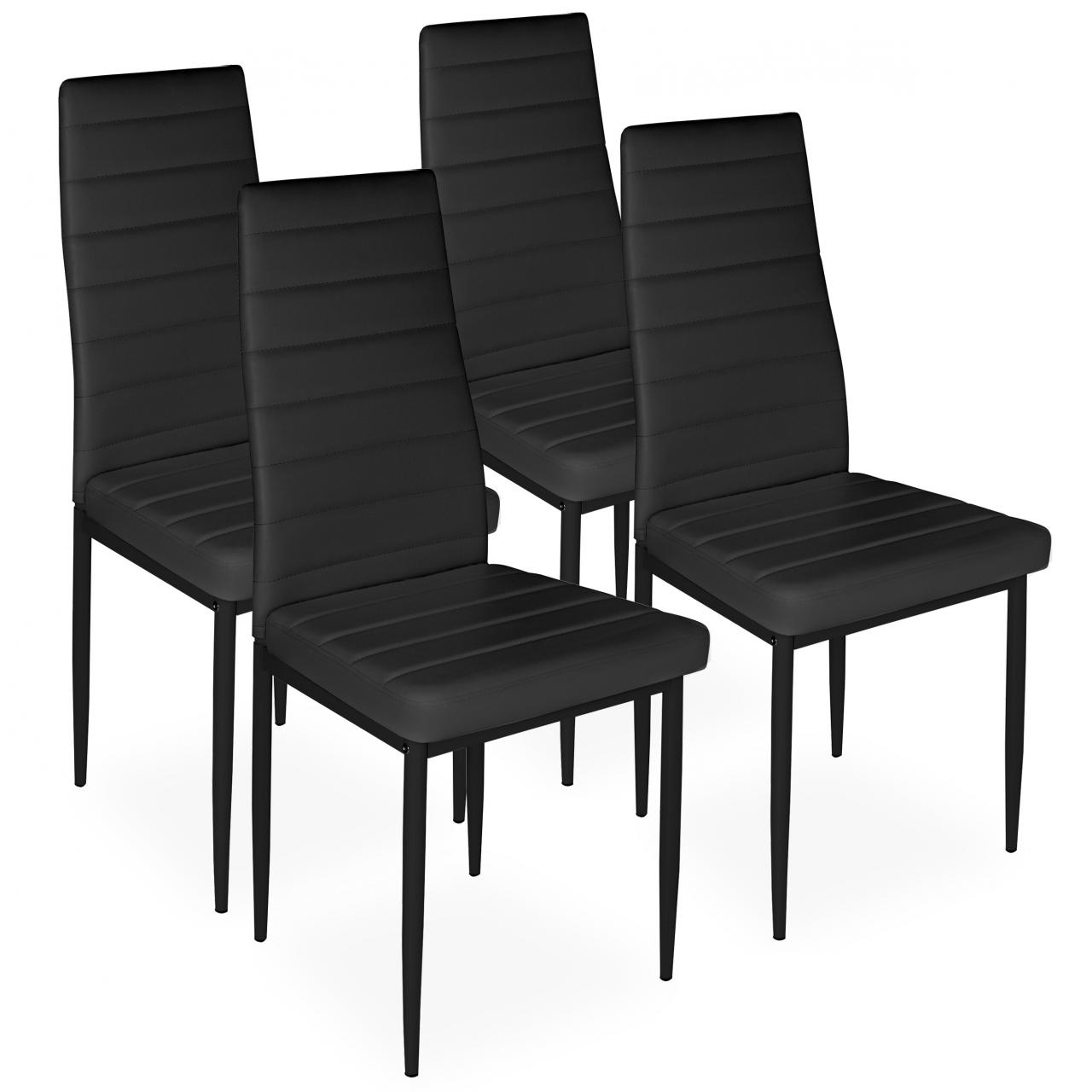 Upholstered Kitchen Chairs 4 Piece Dining Chair Set Upholstered Chair Kitchen Dining