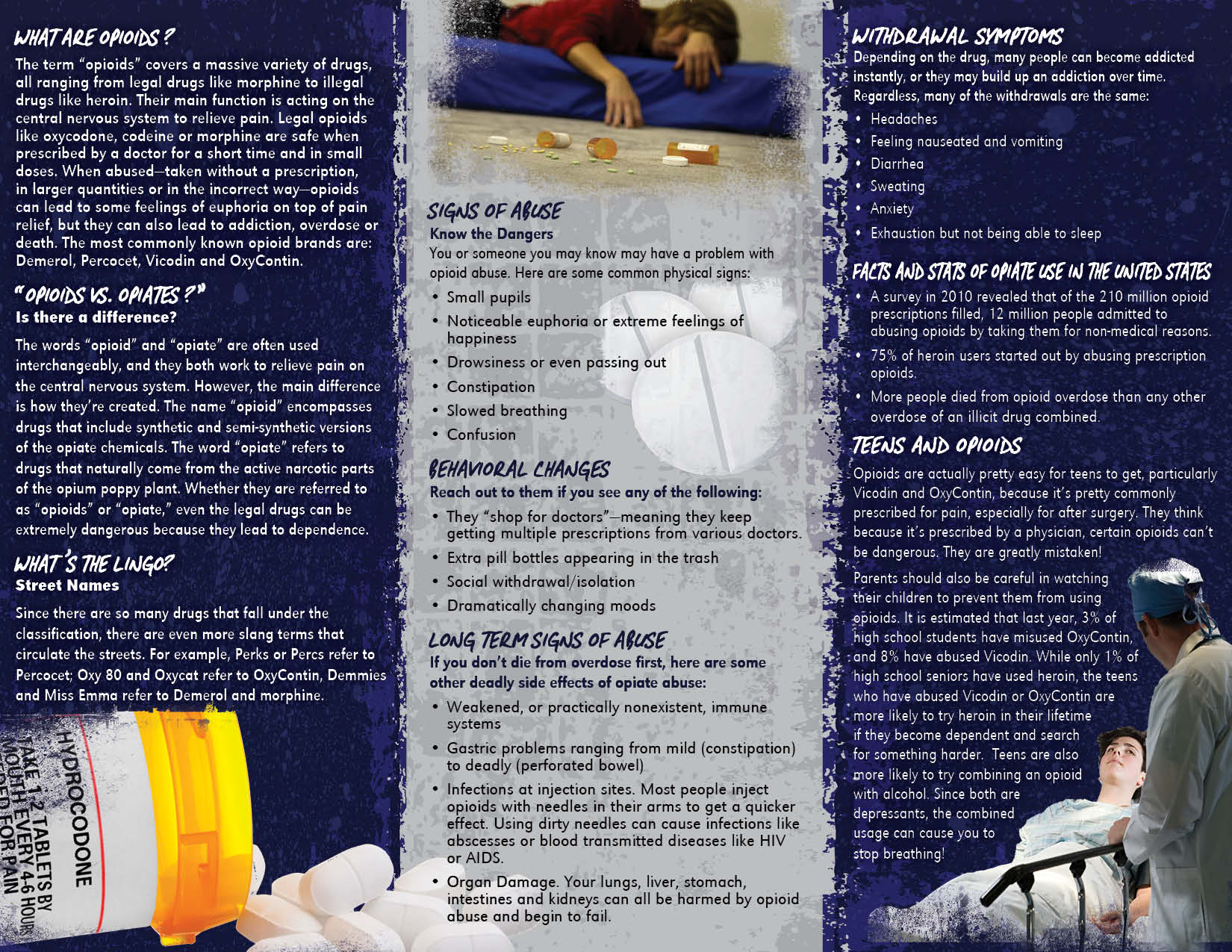 Opioids Retractable Banner Package Primo Prevention