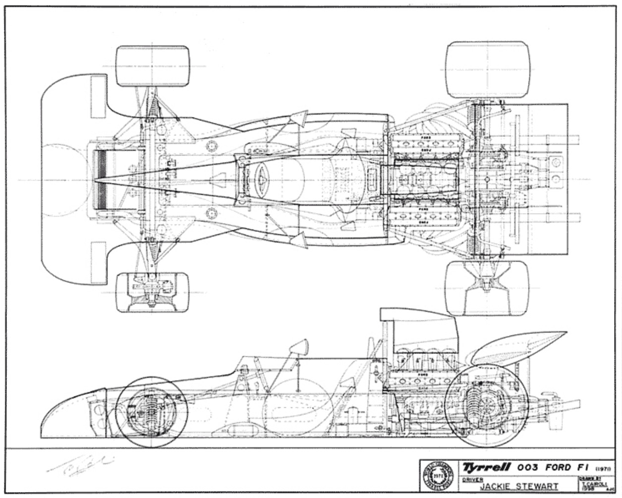 Tyrrell 019 Ford And Tyrrell Innovation