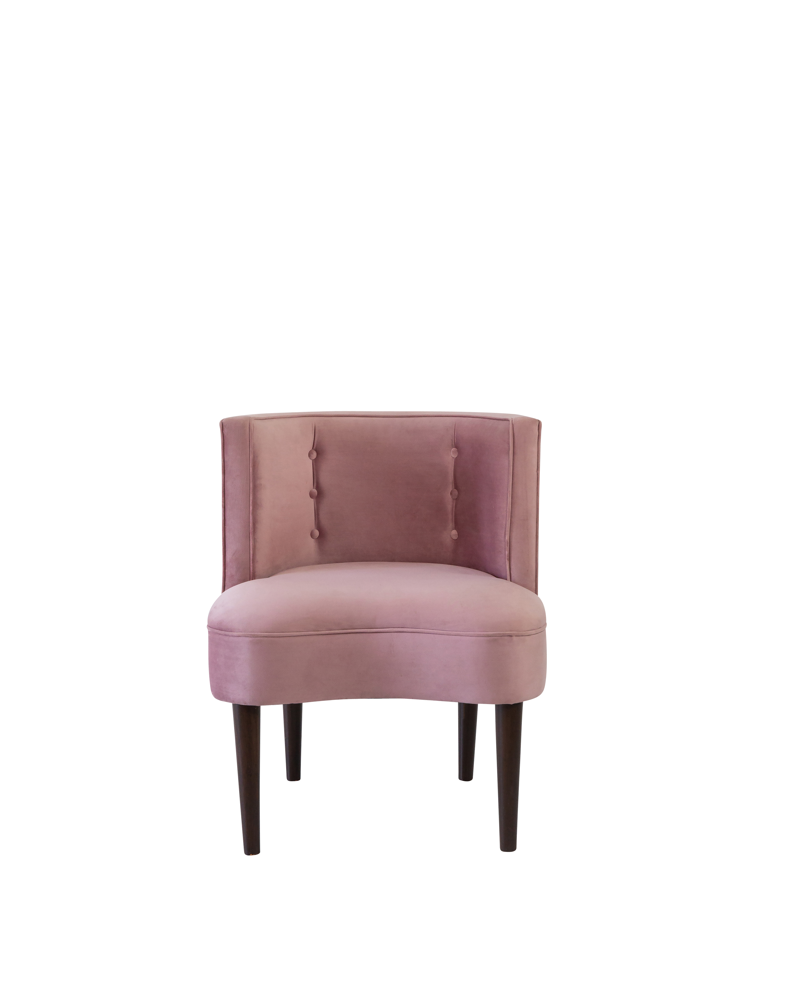 Erika Chair- Dusty Rose