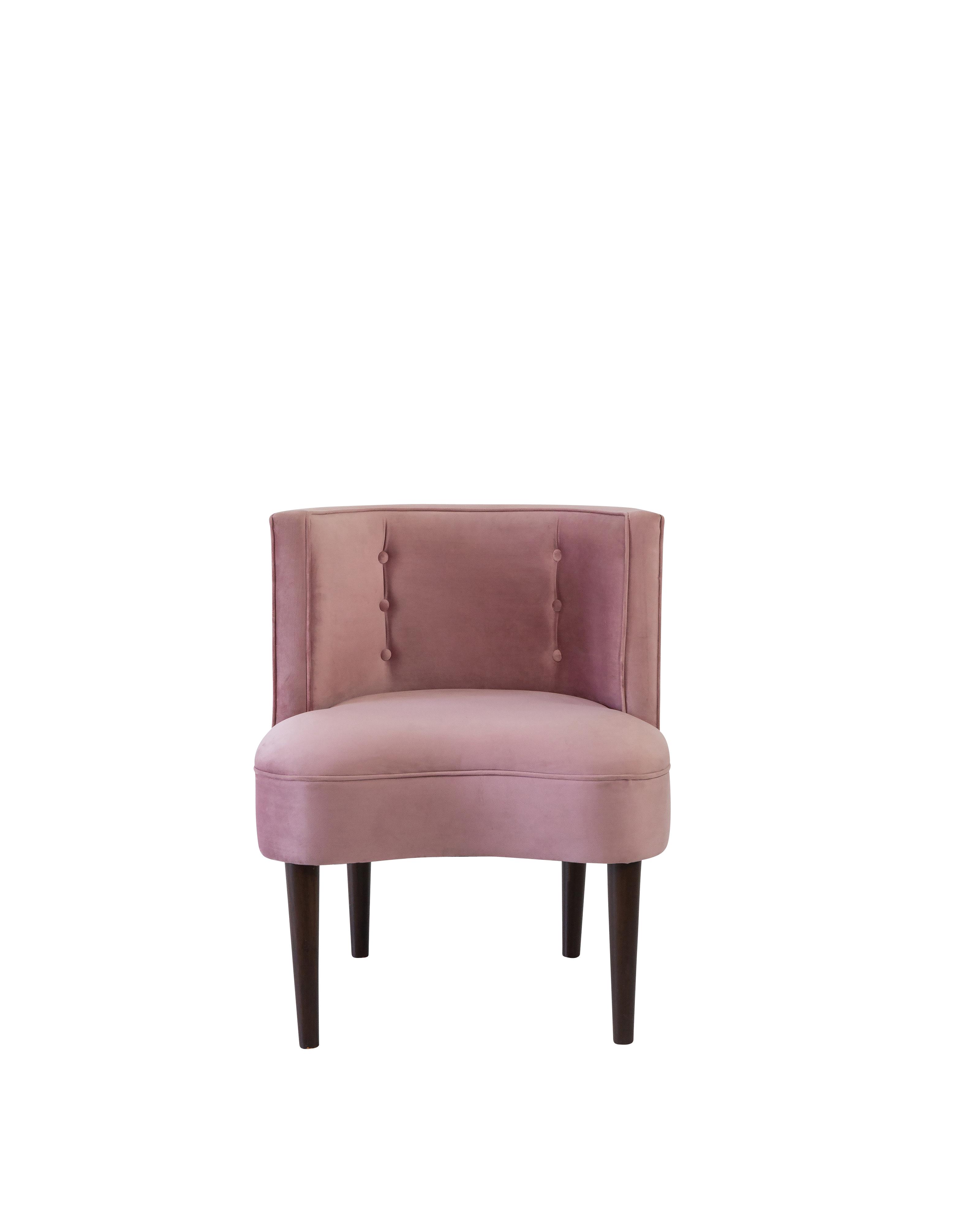 Erika Chair- Dusty Rose