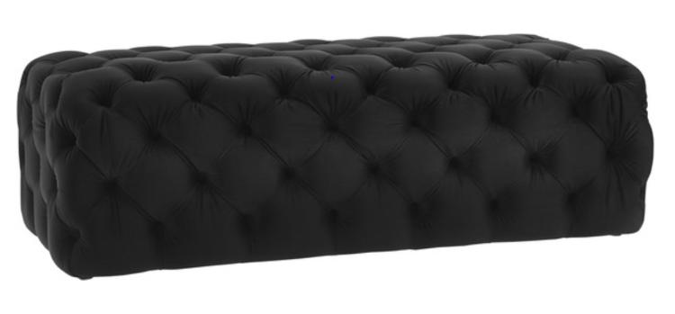 Cosmo Ottoman- Black