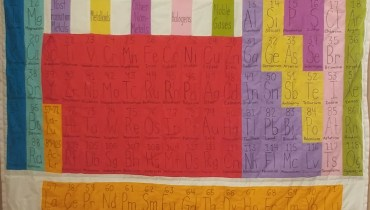 The Periodic Table of Elements Quilt