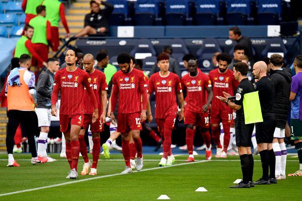 Jucătorii lui Liverpoo. Sursă foto: liverpoolecho.com