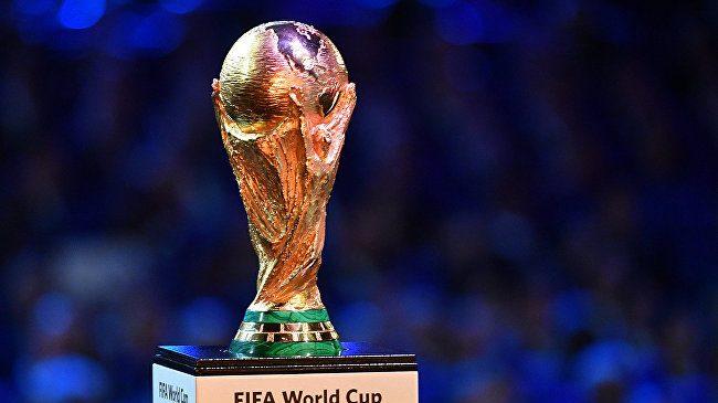Trofeul Cupei Mondiale. Sursă foto: presscenter.com