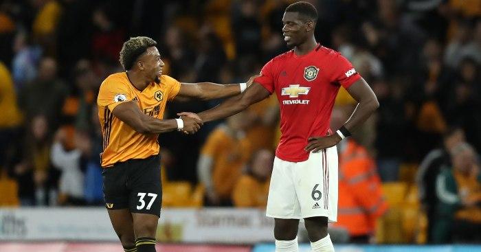Adama Traore și Paul Pogba. Sursă foto: football365.com