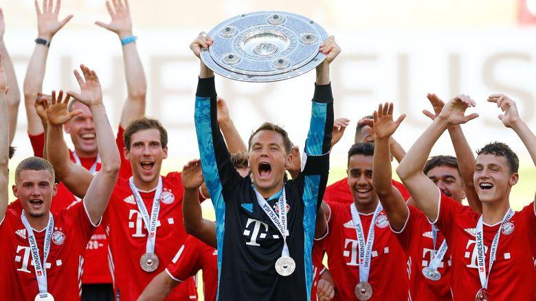 Jucătorii lui Bayern Munchen. Sursă foto: gds.ro