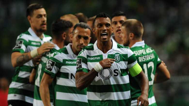Luis Nani la Sporting Lisabona. Sursă foto: franchisesport.co.uk