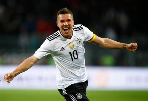 Lukas Podolski. Sursă foto: goal.com
