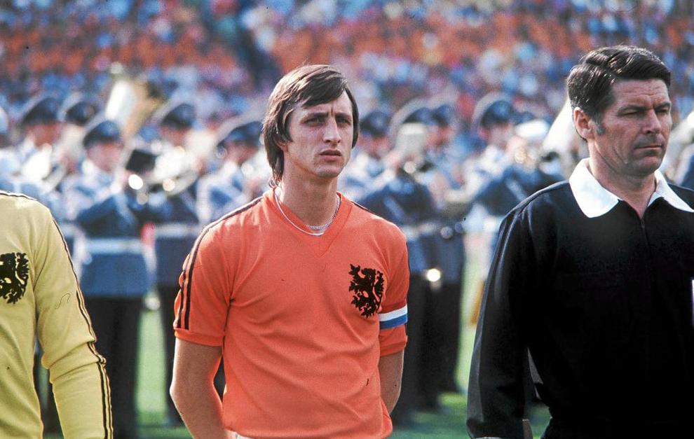 Amenințarea cu pistolul a lui Johan Cruyff. Sursă foto: marca.com