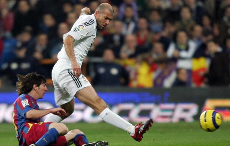 Zinedine Zidane vs. Lionel Messi. Sursă foto: marca.es
