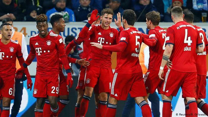 Măcel marca Bayern. Sursă foto: goal.com