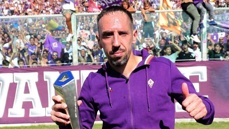 Franck Ribery la Fiorentina. Sursă foto: skysports.com