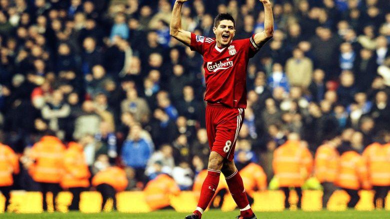 Steven Gerrard. Sursă foto: goal.com