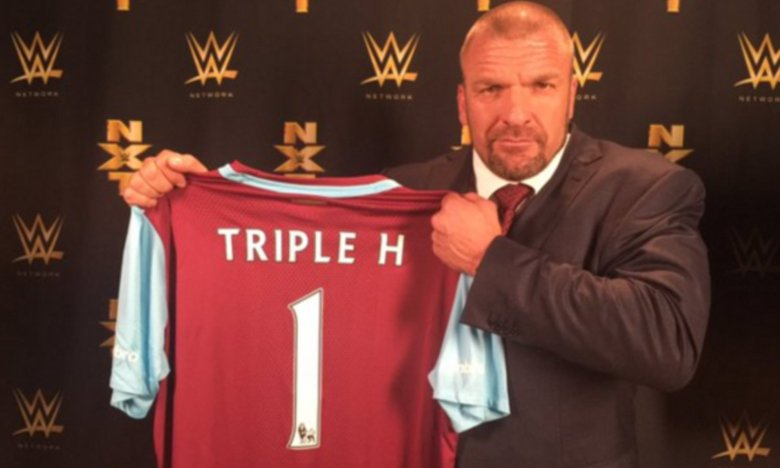 Triple H West Ham. Sursă foto: goal.com