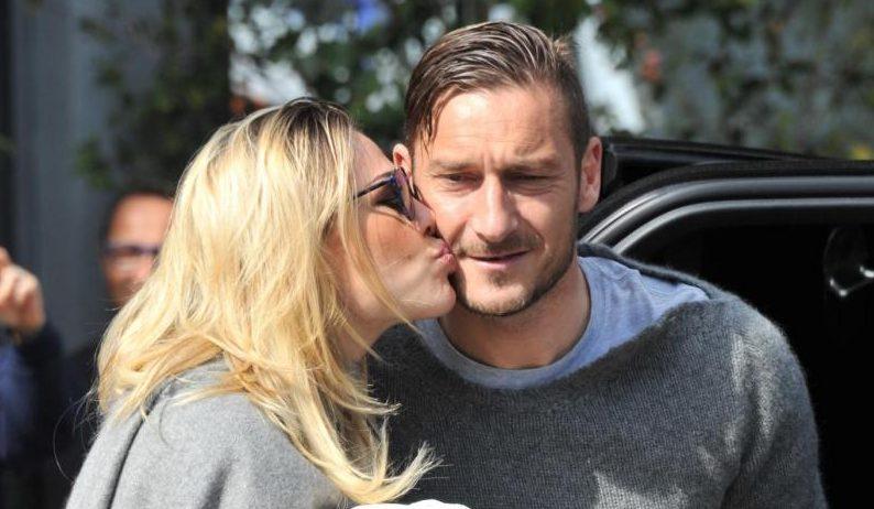 Visul ciudat al lui Francesco Totti și al soției sale. Sursă foto: goal,.com