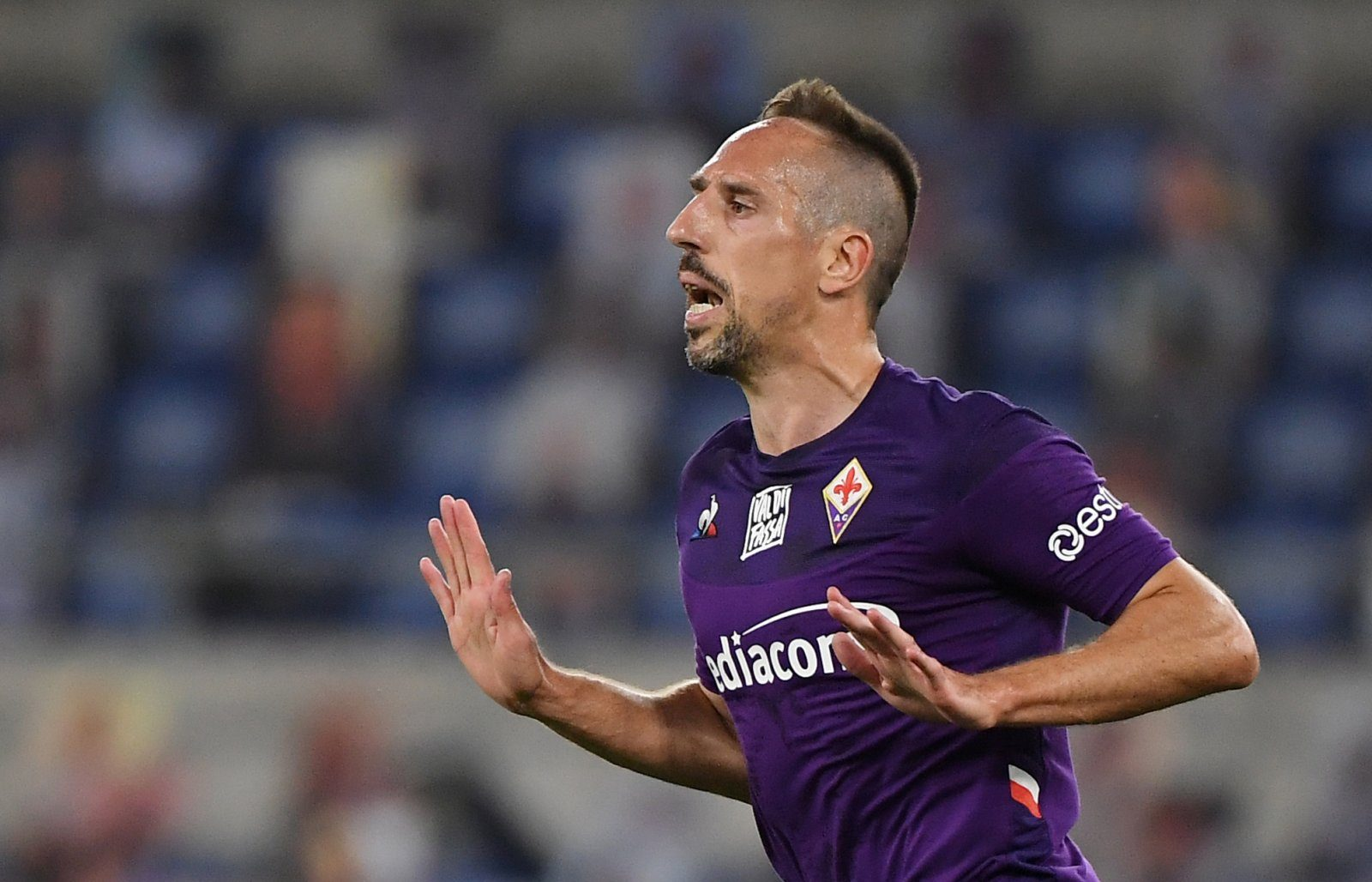 Cearta dintre Ribery și fanii Fiorentinei. Video. Sursă foto: goal.com