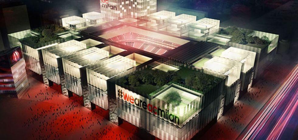 """Noul """"San Siro"""" va arăta grozav. Foto. Sursă foto: irishmirror.com"""
