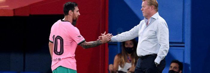 Koeman a mers acasă la Messi pentru a-l împăca. Sursă foto: goal.com