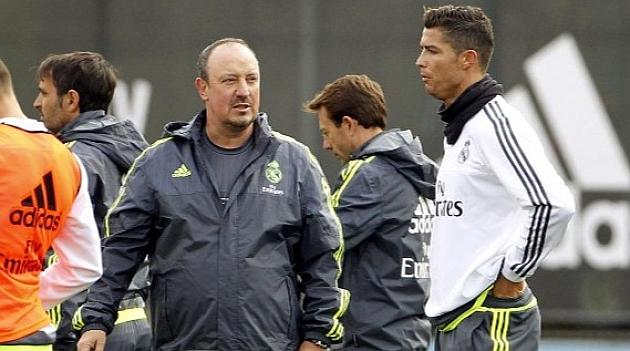 Rafa Benitez și Cristiano Ronaldo. Sursă foto: elpais.es