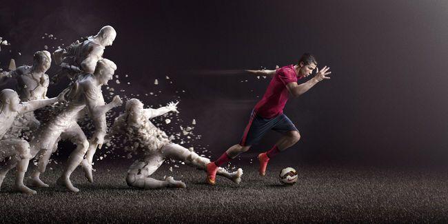 Reclamă Nike. Sursă foto: pinterest.com