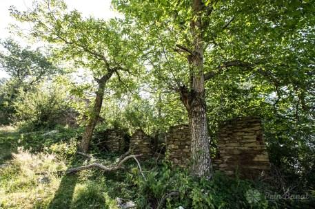Lindenfeld, das verlassene Dorf