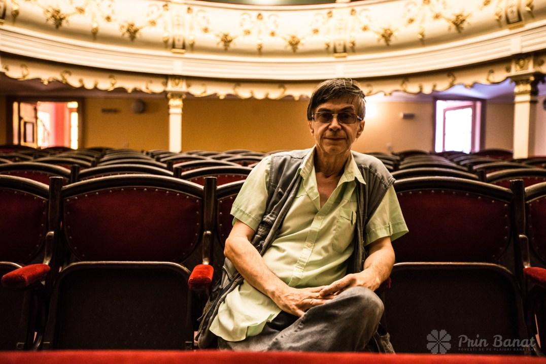 Prof. Dr. Ionel Bota, directorul Teatrului Vechi Mihai Eminescu din Oraviţa