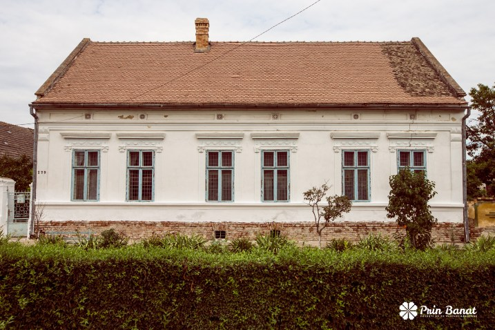Hilda's house in Gottlob, built in 1899. Copyright: Prin Banat 2014-2015. ALL RIGHTS RESERVED