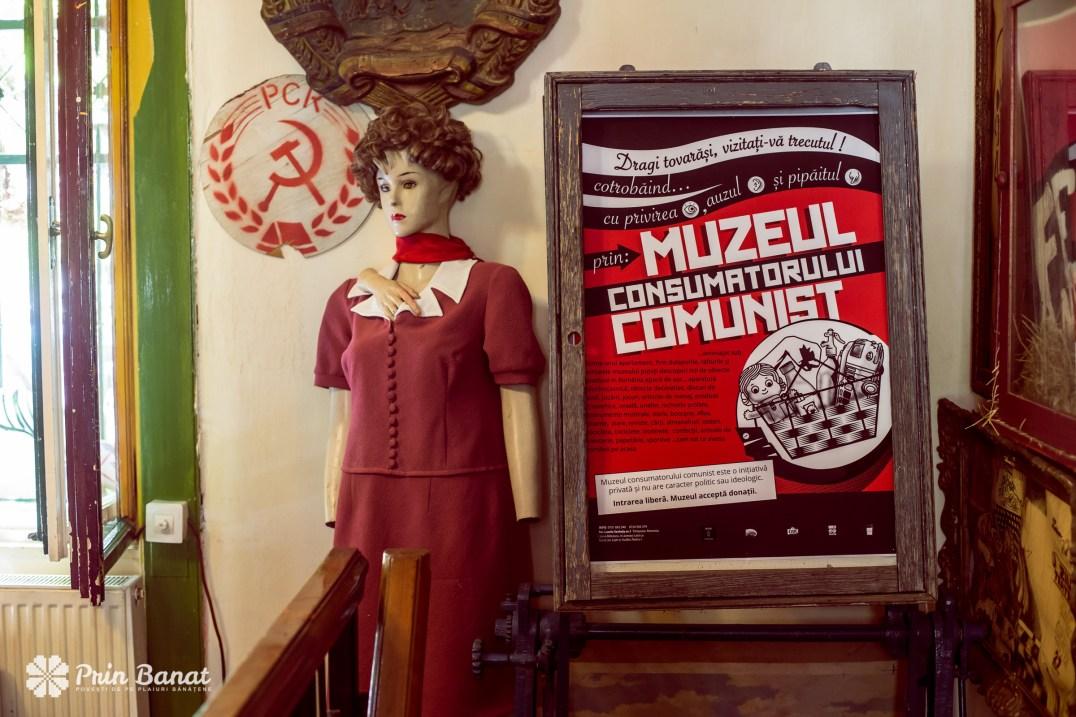 Das Museum des kommunistischen Verbrauchers in Timişoara. Copyright PRIN BANAT/ Flavius Neamciuc 2016. Alle Rechte vorbehalten.