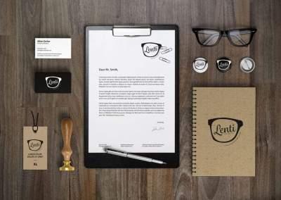 Lenti | Branding Package