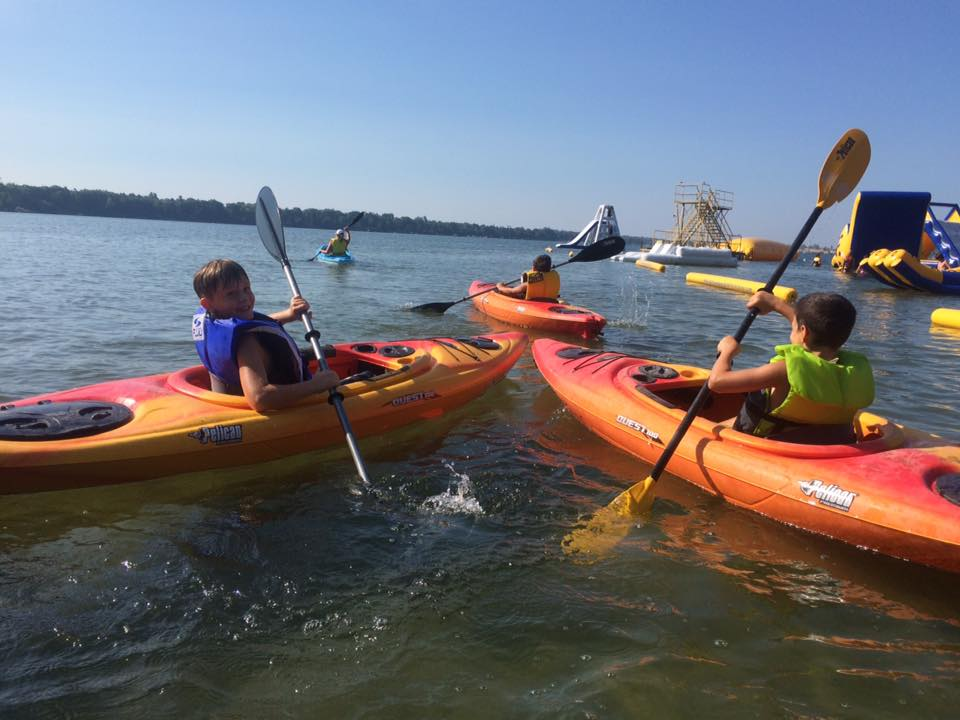 watersports kids camp Kayak - Canoe - SUP Rentals