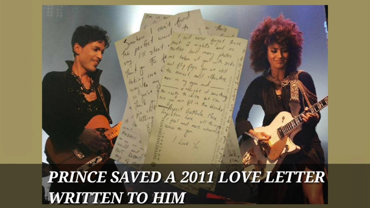 Prince Secret 2011 Love Letter Revealed