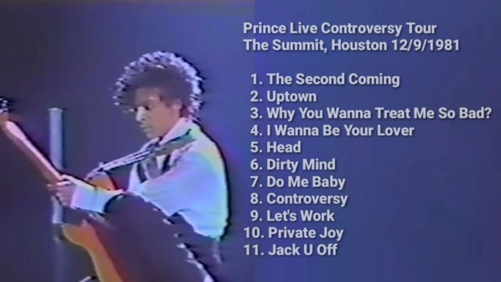 Prince The Second Coming 12-9-1981