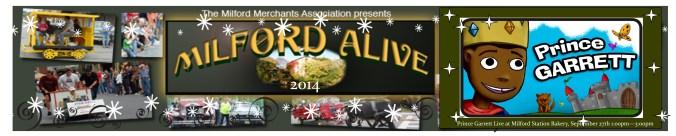 milford alive banner