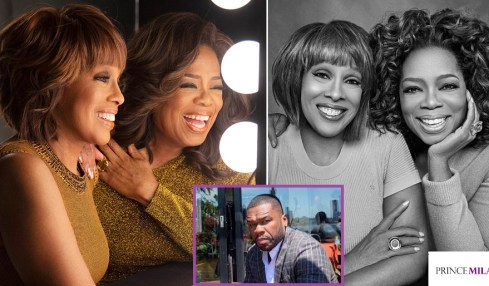 "DO YOU AGREE? 50 Cent PUTS Oprah Winfrey & her BFF Gayle King On Blast: ""They HATE Black Men!"""