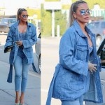 This All-Denim look is so cute on Khloe Kardashian... What you think?