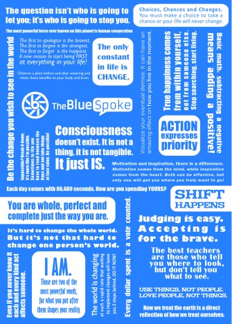 Blue Spoke Flyer