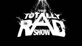 logo background for totally rad show