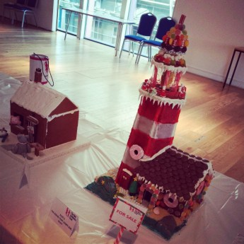 The winner! The amazing 3d stripey lighthouse by @loopygirl