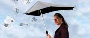 аеродинамичен чадър