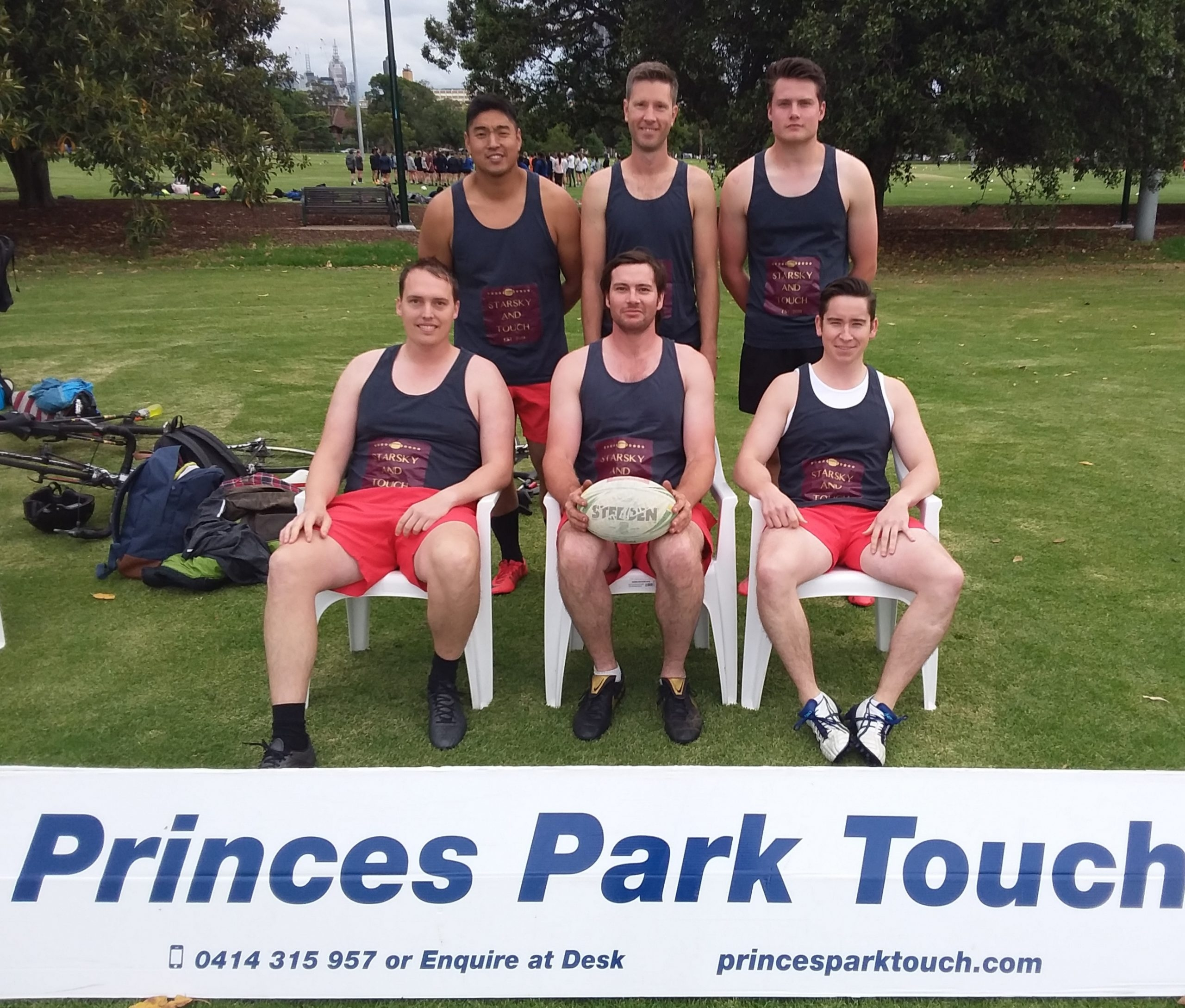 Starsky and Touch - Mens A grade runners up