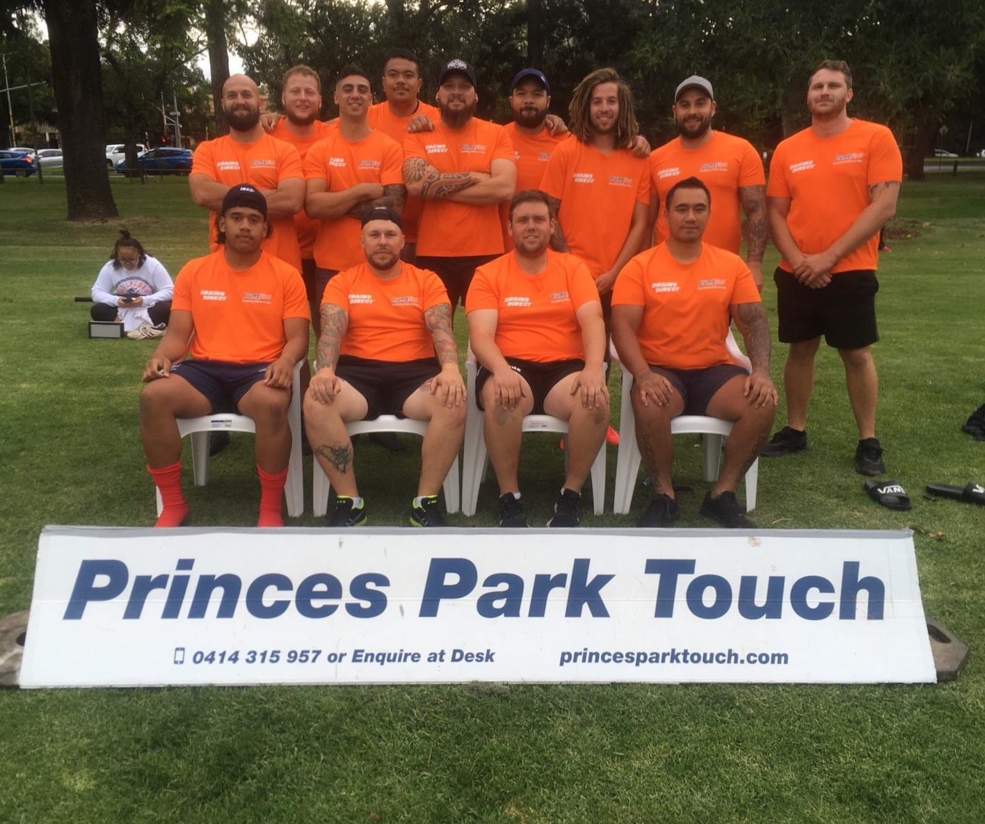 firstTouch - Men's B Grade premiers