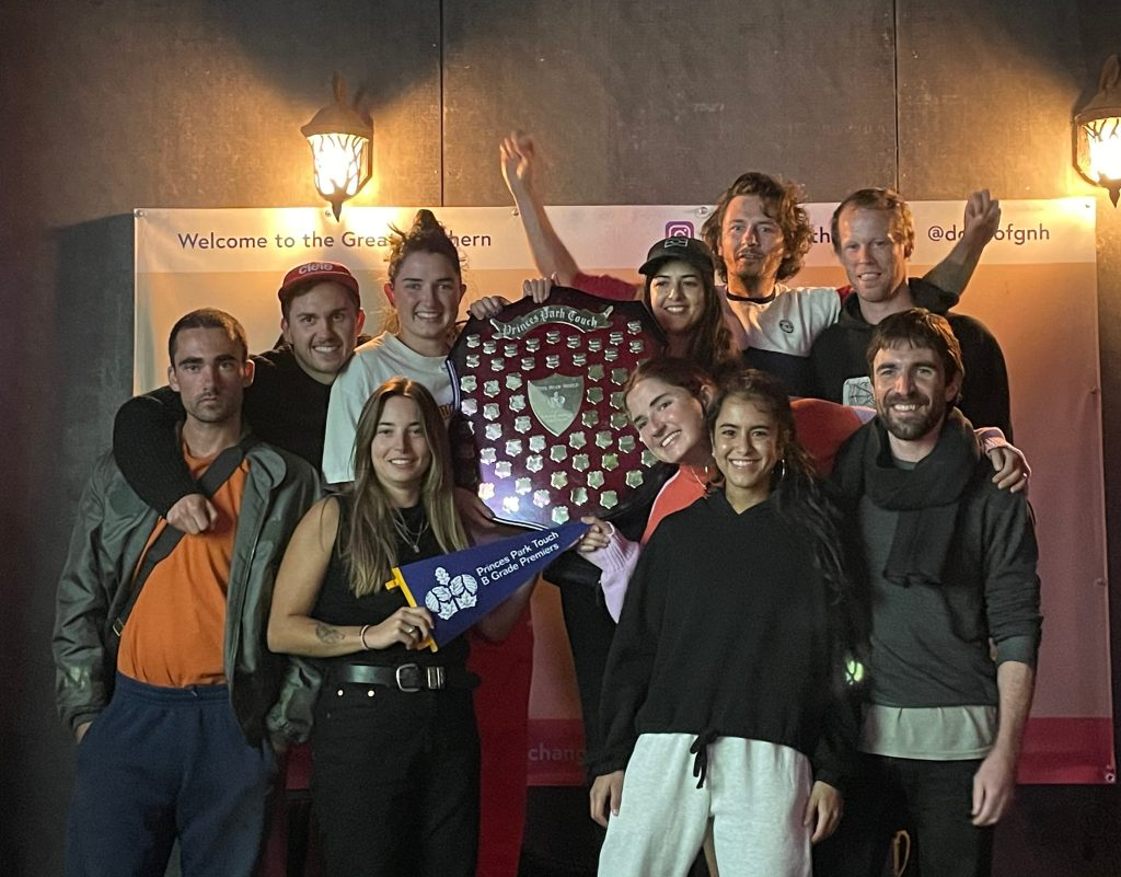 Good times and friends - take 1 - B grade premiers