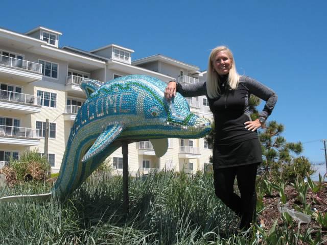 Cindy Graf of Sandbridge is Virginia Beach's Volunteer of the Year. [Janet Yarbrough Meyer/The Princess Anne Independent News]