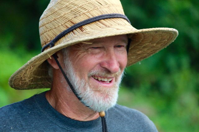 John WIlson, owner of New Earth Farm in Pungo. [John-Henry Doucette/The Princess Anne Independent News]