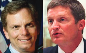 State Del. Bill DeSteph, a Republican, and Dave Belote, a Democrat, face each other in the Nov. 3 election to replace state Sen. Jeff McWaters in the 8th District.