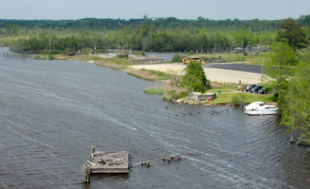 The future site of Pungo Ferry Landing Park. [John-Henry Doucette/The Princess Anne Independent News]