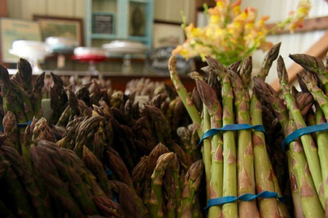 Cullipher asparagus. [John-Henry Doucette/The Princess Anne Independent News]
