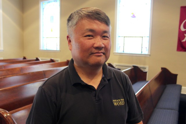 The Rev. David Ryu answered a call to faith during his teenage years in Canada. After serving churches in Detroit, San Diego and Northern Virginia, he is now the senior pastor at Charity United Methodist Church in Pungo. [John-Henry Doucette/The Princess Anne Independent News]